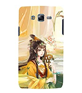 EPICCASE fairy princess Mobile Back Case Cover For Samsung Galaxy J5 (Designer Case)