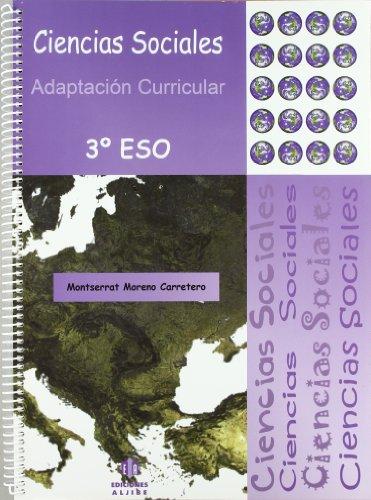 Ciencias sociales: Adaptación curricular. 3º de E.S.O.