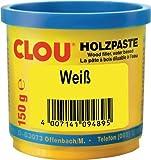 Clou Holzpaste wv weiß, 150 g
