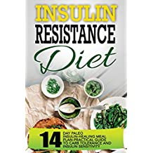 Insulin Resistance Diet: 14 Day Paleo Insulin-Healing Meal Plan-Practical Guide To Carb Tolerance And Insulin Sensitivity (English Edition)