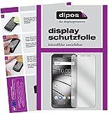 dipos I 6X Schutzfolie klar passend für Gigaset GS185 Folie Bildschirmschutzfolie