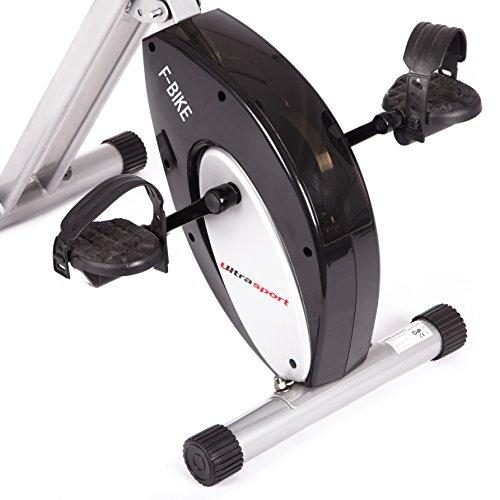 Ultrasport Foldable Exercise Bike with Pulse Sensor Grips 200-B – F-Bike