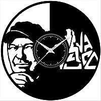 Fusorario Orologio in Vinile da Parete LP 33 Giri Silenzioso Idea Regalo A Tema Vasco rossi 2