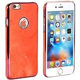 PhoneStar Marble Prime Design Hardcase Cas de téléphone Case Backcover pour Apple iPhone 6, iPhone 6s en rouge