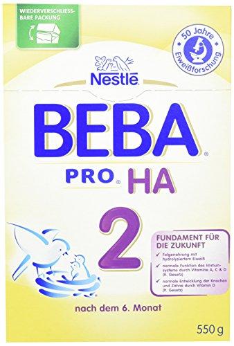 Nestlé Beba HA 2, 6er Pack (6 x 550 g)