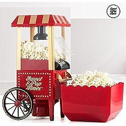 Appetitissime Sweet & Pop B1565166 - Palomitera, 1200 W, color rojo