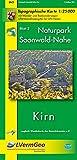 Naturpark Soonwald-Nahe /Kirn (WR): Naturparkkarte 1:25000 mit Wander- und Radwanderwegen und mit dem Soonwald-Steig (Freizeitkarten Rheinland-Pfalz 1:15000 /1:25000) - Landesamt für Vermessung und Geobasisinformation Rheinland-Pfalz