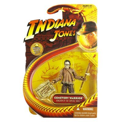 Cemetery Warrior From Indiana Jones And The Kingdom Of The Crystal Skull 2008 Action Figure & Accessories (includes Picture