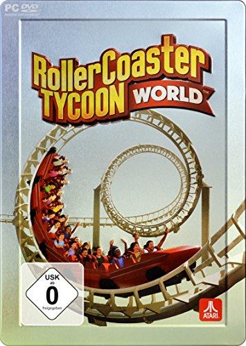 Preisvergleich Produktbild Rollercoaster Tycoon World - Steelbook Edition - Early Access - (exklusiv bei Amazon.de) (Code in der Box) - [PC]