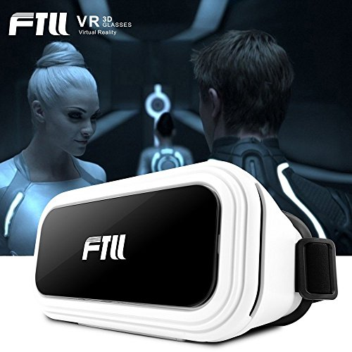 FTLL Virtual Reality Headset 3D VR Brille Box für iPhone 6/ 6s plus iphone 7/7 plus Samsung Galaxy S4/5/6/7/C5/7/A3/7/5/9 Edge Note 4/5/6/7 LG G5 / SONY Experia T2 Ultra / Xperia Z3 + / MOTO Nexus 6 / HTC One Max / Desire 816 / Un M9 / android and ios