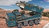 Beidifa DIY - 3D - der baukastensystem Bau Puzzle Handgefertigte Montieren Modell Spielzeug für Kinder, Jugendliche und Erwachsene Kreative Geschenke (Raketen - Auto)