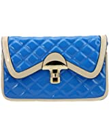 Girly HandBags New Nude NeonYellow Patent Clutch Bag Quilted Glossy Gold Red Blue Beige Black