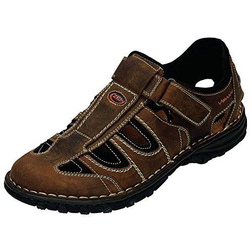 Zen sandali uomo 660200, Marrone (marrone), 45 EU