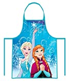 eli Frozen - Die Eiskönigin Anna & Elsa Kinder Chefkoch Set 2 tlg. Kochmütze & Kochschürze