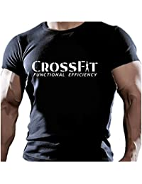 IDEAMAGLIETTA CR0003U T-Shirt Uomo Crossfit Functional efficiency Fitness Palestra Body Building Sport