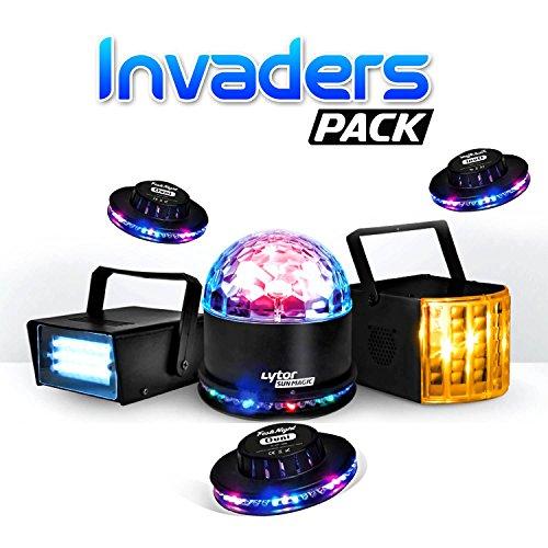 Pack Invaders 6Auswirkungen Derby Zirkus + sunmagic Astro/UFO + Strobe + 3UFO