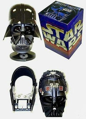 Star Wars Riddell Darth Vader Helmet Authentic Replica (.45 scale beautiful die-cast metal, swivel display stand) -