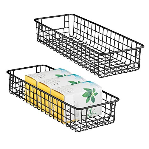 MDesign Juego 2 cestas almacenaje multiuso - Resistentes