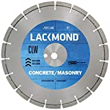 lackmond CLW Serie Beton Allgemeine Zwecke Sägeblatt–30,5cm Werkzeug mit Segmenten Konfiguration & 2,5cm–20mm Arbor–clw121251