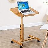Tische Huo Lazy Abnehmbarer Nachttisch Computer-Schreibtisch Schreibtisch mit Ein Schreibtisch Einfach klappbar Klein Multifunktional Tisch Schreibtisch Schreibtisch Multifunktions, L70W50