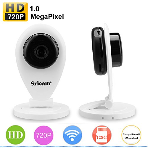 SRICAM WIFI IP PTZ Camera - SP009 720P Wireless Security
