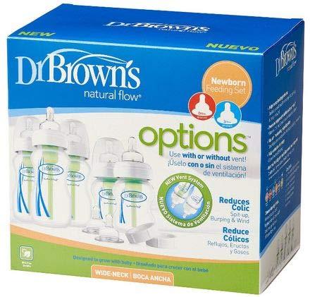 Dr. Brown's Options Natural Flow - Set biberones