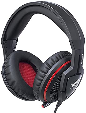 ASUS ROG Orion Gaming Headset with Big 50 mm Drivers for PC/PS4/Xbox/Mac/Mobile Devices