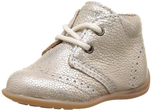 en Lauflernschuhe Sneaker, Silber (01 Silver), 23 EU (Baby Schuhe Mädchen Silber)