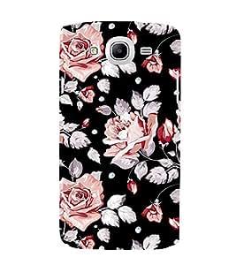 PrintVisa Flower Floral Pattern 3D Hard Polycarbonate Designer Back Case Cover for Samsung Galaxy Mega 5.8 I9150 :: Samsung Galaxy Mega Duos I9152