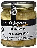 Conservas Cabezn Frasco de Bonito en Aceite - 222 gr - [Pack de 6]
