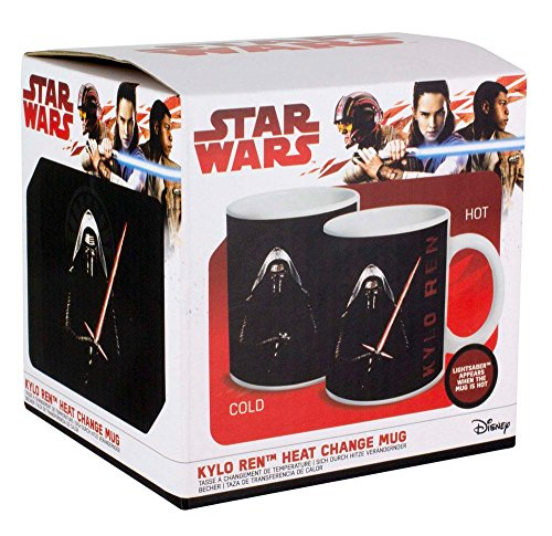 Star Wars Kylo Ren Calor Cambio Taza, Multi