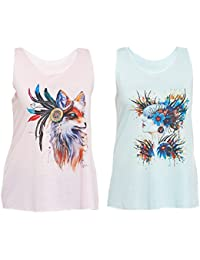 e7383adc Vest Tops: Buy Women's Vest Tops Online at Low Prices in India ...