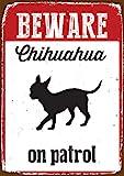 Chihuahua Schnick Schnack - Blechschild