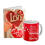 #10: Valentine Gift    Gift for Valentine day Gift    Gift Specially For Girlfriend And Also Combined For Valentine And All Occasion For This Valentine day And Best Gift For Girl friend  Gift for Boy friend  Gift for Wife  Gift For Husband Mug With love Greeting card ST-01