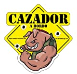 Caramba Comics Factory Chasseur Sticker