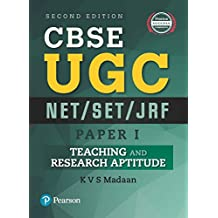 CBSE UGC NET/SET/JRF - Paper 1: Teaching and Research Aptitude