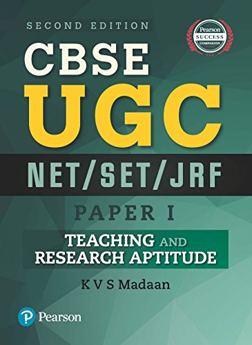 CBSE UGC NET/SET/JRF – Paper 1: Teaching and Research Aptitude
