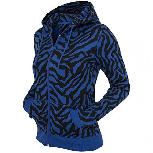 Urban Classics Ladies Zebra Hoody Sweats à capuche red