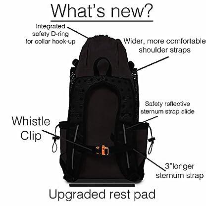 K9 Sport Sack | Dog Carrier Backpack for Small and Medium Pets | Front Facing Adjustable Dog Backpack Carrier | Fully… 4