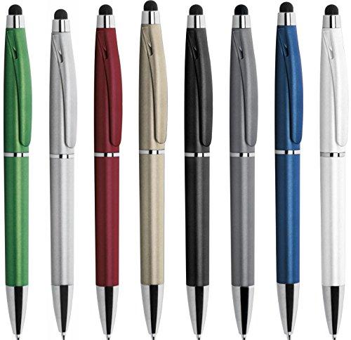 Penne personalizzabili personalizzate con nome logo o slogan gadget promozionali - stylus pd090 - 100 pezzi stampa 1 colore