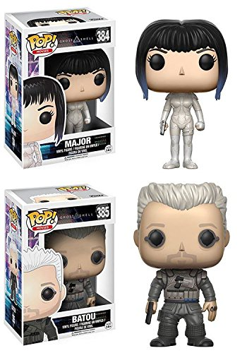 Funko POP Ghost In The Shell Major Batou Stylized Vinyl Figure Set NEW