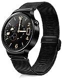 Huawei Watch mit Netzarmband in schwarz