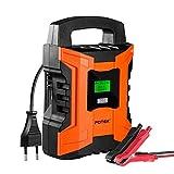 POTEK 2A/6A/10A 7-Schritt Smart Batterieladegerät
