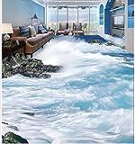 3D Adesivo Murale Carta Da Parati Fegato Pavimento In PVC Impermeabile Pavimento Foto Personalizzata Adesivo Pavimento 3D