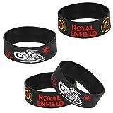 #2: Vheelocityin Royal Enfield Wrist Band Black Wristband