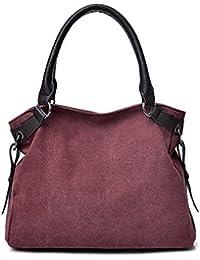 HAOXIAOZI Sac Géométrique Lingge été Portable épaule Triangle Couture Sac De Marée,Pink-OneSize