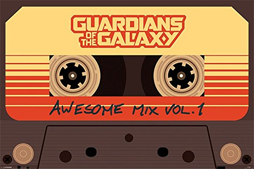 Guardians of the Galaxy Poster Pack Awesome Mix 61 x 91 cm (5) Pyramid International