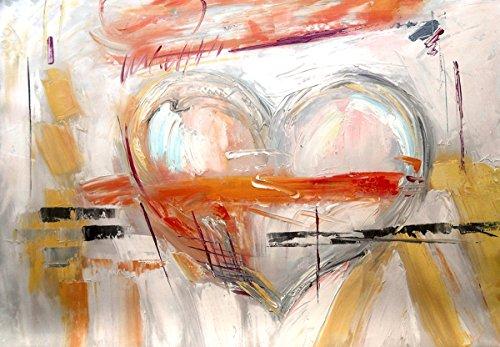 Legendarte C-17 Cuadro Te Amo Pintura Pintada Mano