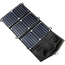NEW 21W 5V Folding Solar Panel Charger Portable Dual USB Output High Efficiency Sunpower Solar Panel for Cellphone 5V Device
