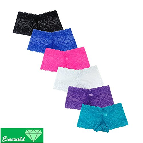 Emerald Lace Underwear